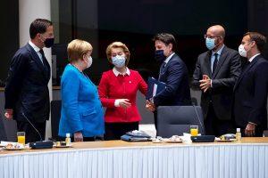Líderes del bloque comunitario debaten sobre el rescate de la Unión Europea tras la pandemia