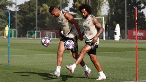 El Real Madrid se centra en el doble trabajo táctico de cara a la Champions