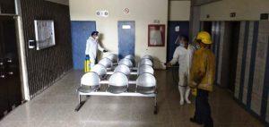 Amplia jornada de desinfección contra la COVID-19 se llevó a cabo en Barquisimeto