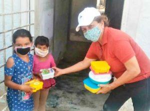 Entregaron alimentos a estudiantes de la Fundación Niño Zuliano