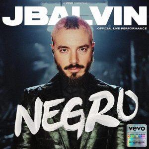 J Balvin estrenó «Negro», su último tema del álbum «Colores»
