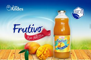 Lácteos Los Andes incrementa la producción de su jugo de mango Frutivo