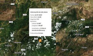 Fuerte temblor se sintió este domingo en la capital zuliana