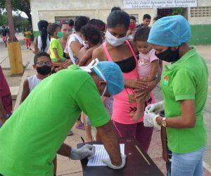 Habitantes de Guajira recibieron atención del Instituto Nacional de Nutrición