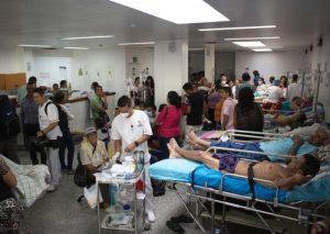 Hospitales venezolanos estarían al borde del colapso por el crecimiento de los casos de la COVID-19
