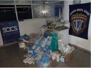 Detenida mujer con insumos médicos hurtados en Guanare