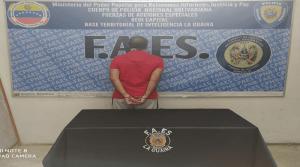 Capturaron en La Guaira a narcotraficante solicitado por Interpol
