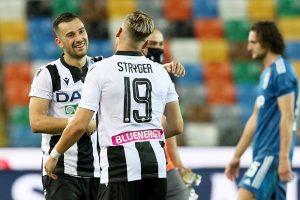 Juventus cae en Udine y desperdicia su primera ocasión para ser campeón