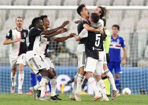 El Juventus se proclama campeón de Italia por 36 vez, novena consecutiva