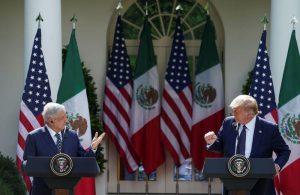 En primer encuentro, López Obrador elogia a Trump a pesar de insultos y amenazas previas