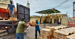 Hospital de Niños recibió dotación de medicamentos por parte de la Gobernación del Zulia y Min-Salud.