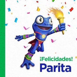 Ella es Parita, la mascota oficial de los Juegos Centroamericanos y del Caribe Panamá 2022