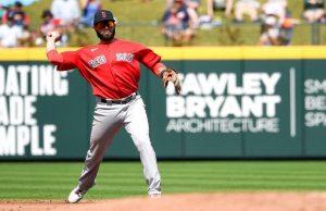 El venezolano José Peraza será el titular de segunda base en los Boston Red Sox