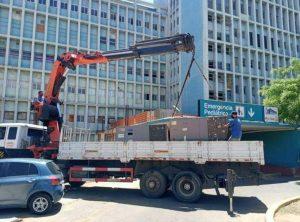 Gobierno del Zulia reactivó planta el eléctrica de 1.6 MV e instaló 70 toneladas de aire acondicionado en el Hospital Universitario de Maracaibo