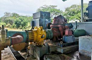 Reactivado quinto motor de bombeo en Tulé para aumentar la distribución de agua en el Zulia