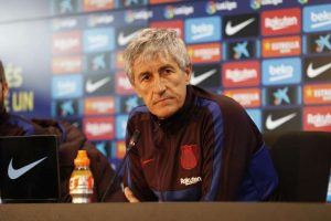 Quique Setién: «No ha sido un apagón futbolístico»