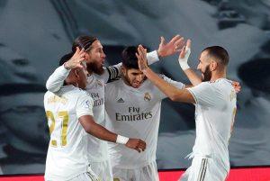 El Real Madrid acaricia el título liguero