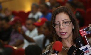Tania Díaz: «Resolución del Parlamento Europeo justifica el despojo de activos a Venezuela»