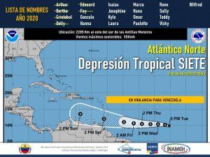 Venezuela en alerta ante la formación de ciclón tropical en el Atlántico