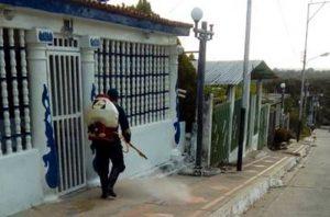 Zonas de riesgo epidemiológicas del estado Trujillo recibieron jornada de desinfección