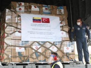 Venezuela recibe 20 toneladas de  ayuda humanitaria  proveniente de Turquía