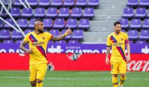 (#LaLiga) Barcelona gana por la mínima ante el Real Valladolid