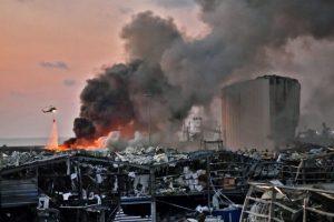 Riad Mawad venezolano en Beirut: «Los marcos de las ventanas volaron, se llevaron todo lo que estaba por el medio»