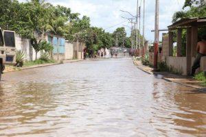 Crecida del rio Amana en Monagas deja 544 familias afectadas