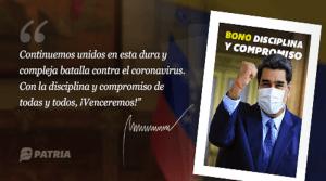 Bono Disciplina y Compromiso fue asignado por el gobierno nacional