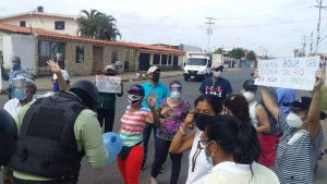 Se registran protestas en capital de Anzoátegui por escasez de agua
