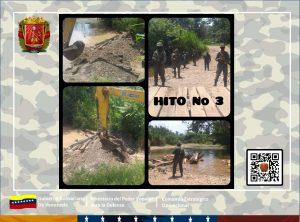 Pasos ilegales hacia Colombia fueron destruidos en el estado Táchira
