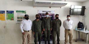 Tres militares venezolanos fueron capturados y expulsados de Colombia