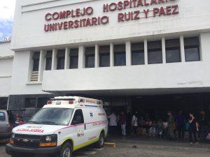 Denuncian que Hospital Ruiz y Páez de Ciudad Bolívar colmó su capacidad para atender pacientes de COVID-19