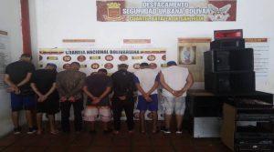 Aprehendidas siete personas por incumplir cuarentena en Bolívar