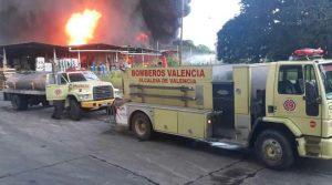 Goodyear de Venezuela en Valencia se incendió este sábado