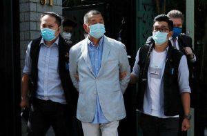 Hong Kong arresta al magnate de los medios Jimmy Lai con la nueva ley de seguridad