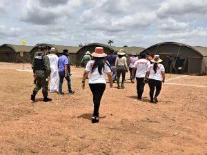 Al menos 72 venezolanos retornados en la Guajira iniciaron huelga de hambre