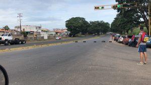 Reportan protestas por gasolina en diferentes zonas de Bolívar