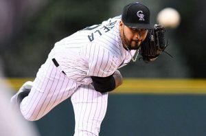 (#MLB) Actuación estelar de Sanzatela contribuyó en victoria de los Rockies