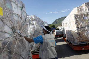 UNICEF Venezuela recibió 73 toneladas de suministros para combatir la pandemia