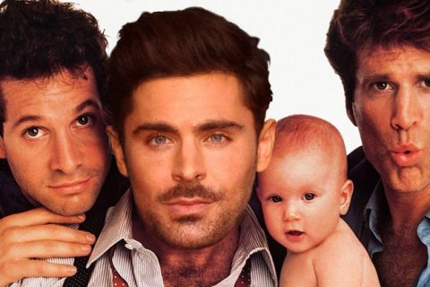 Zac Efron protagonizará la nueva versión de «Three Men and a Baby»