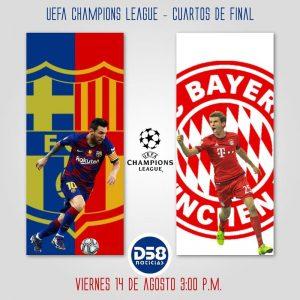 Barcelona encara al gran favorito del torneo Bayern Munich