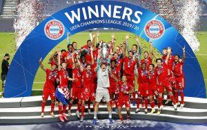 Bayern es campeón invicto de la Champions League 2020