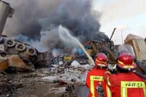 Líbano declara un día de luto tras la gran explosión en el puerto de Beirut