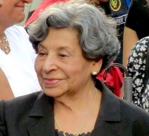 Murió la exprimera dama Blanca Rodríguez de Pérez