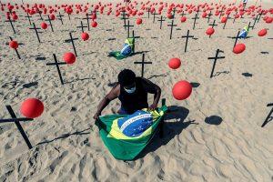Brasil, segundo país en superar las 100.000 muertes y los 3 millones de casos