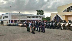 Despliegan operativo especial de seguridad en el municipio Santa Rita
