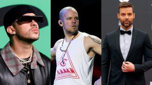Ricky Martin, Residente y Bad Bunny se unen a la lista de los 100 mejores artistas visuales de Billboard