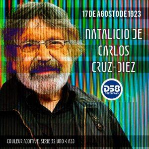 Carlos Cruz-Diez, 97 años del natalicio del artista del color y el movimiento