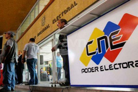 CNE extiende  nuevamente el plazo para inscripción de candidatos para las elecciones del 6D